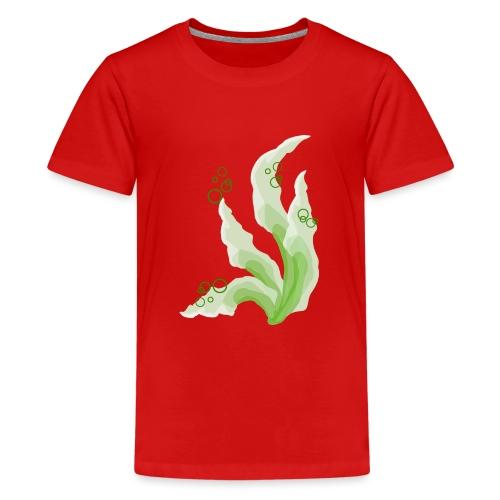 pennelli acquerello verde - Maglietta Premium per ragazzi