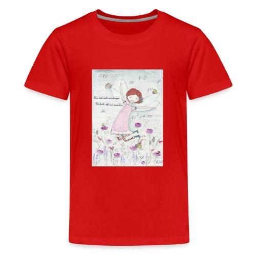 Blümchen Fee - Teenager Premium T-Shirt