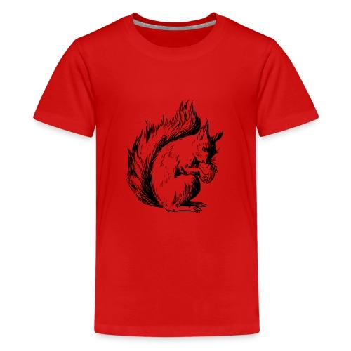 écureuil amandes - T-shirt Premium Ado