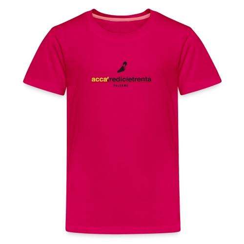 Logo Young Red Line - Maglietta Premium per ragazzi