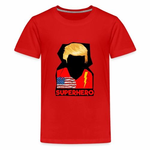 Super Donald / Orange Trump Tear-strappo - Maglietta Premium per ragazzi