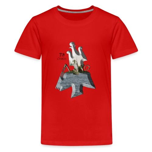 Altägyptischer Gott OSIRIS - Teenager Premium T-Shirt