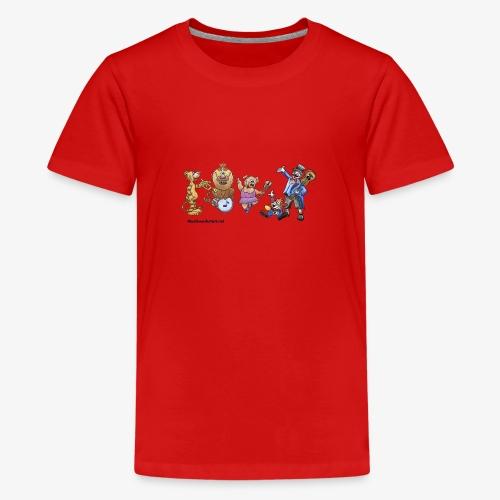 Musik-Zirkus - Teenager Premium T-Shirt