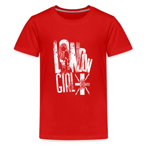 London Girl - Teenager Premium T-Shirt
