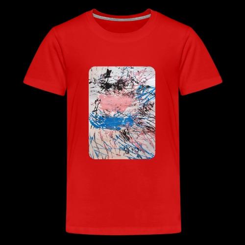 Emelie Kunstwerk V. - Teenager Premium T-Shirt