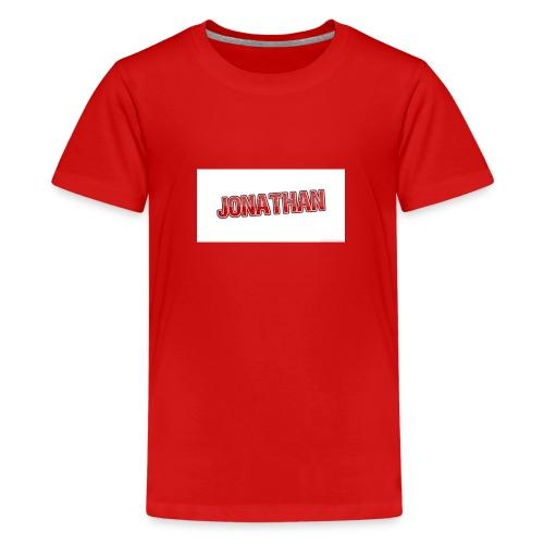 Jonathan - Premium-T-shirt tonåring