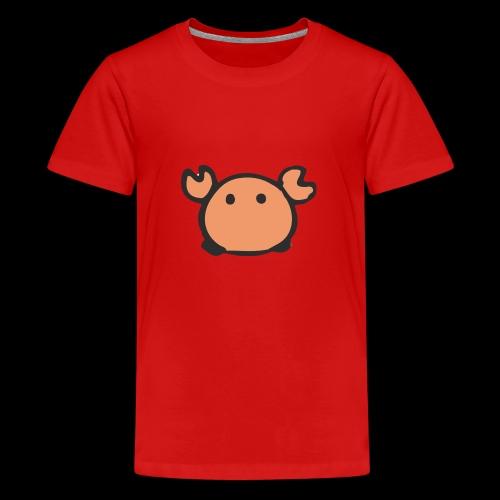 Flumdu_Family Crab - Teenage Premium T-Shirt