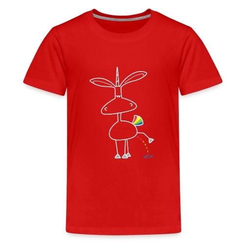 Dru - bunt pinkeln - Teenager Premium T-Shirt