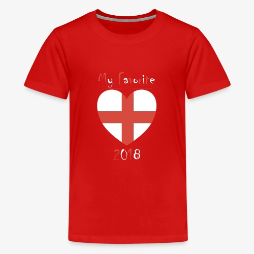 Mein Favorit T-Shirt England - Teenager Premium T-Shirt