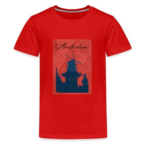 Amsterdam city - Teenage Premium T-Shirt