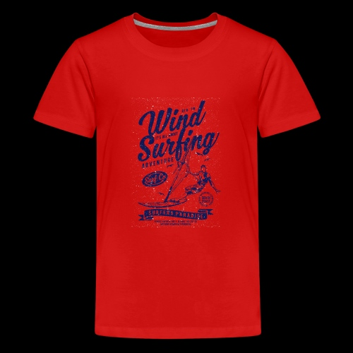 Wind Surfing - Teenager Premium T-Shirt