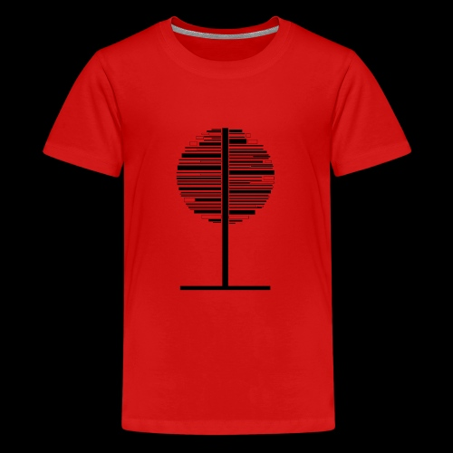Tree - Teenage Premium T-Shirt