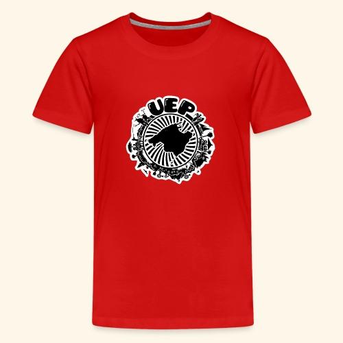 UEP white background - Teenage Premium T-Shirt
