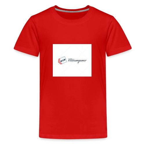 Williamgmer - Premium-T-shirt tonåring