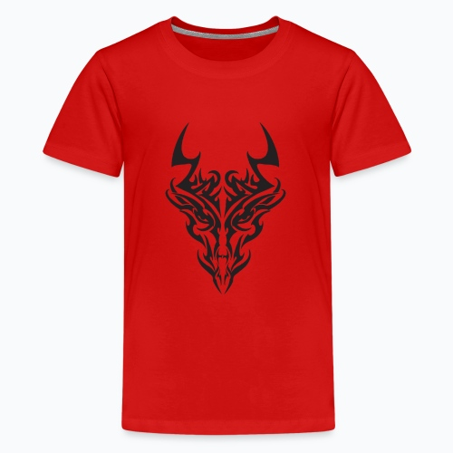 tribal dragon - T-shirt Premium Ado