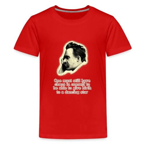 Nietzsche Meme - Teenage Premium T-Shirt