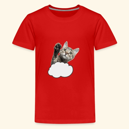 FLYING CAT - Teenager Premium T-Shirt