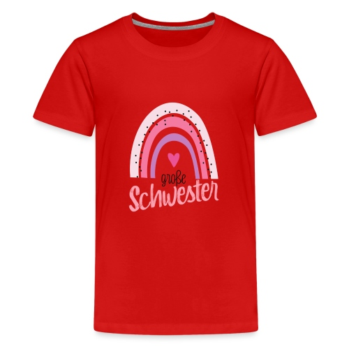 Große Schwester - Teenager Premium T-Shirt