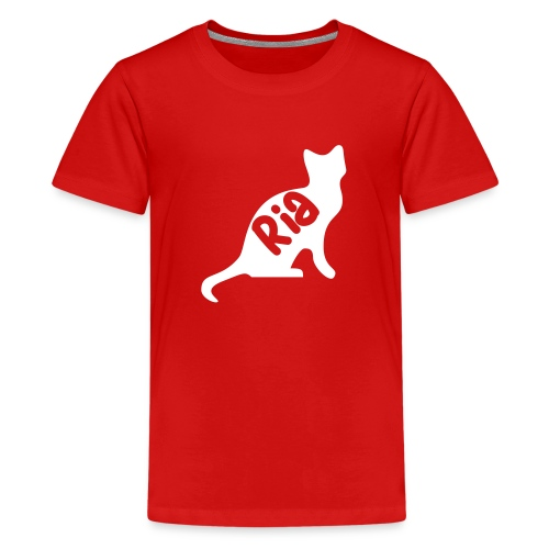 Team Ria Cat - Teenage Premium T-Shirt