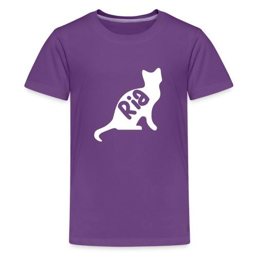 Team Ria Cat - Teenage Premium T-Shirt