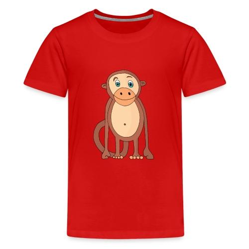 Bobo le singe - T-shirt Premium Ado