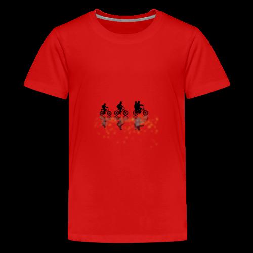Stranger things bikes - Teenage Premium T-Shirt