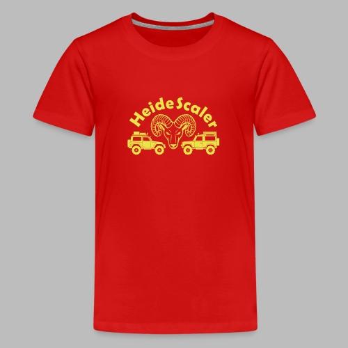 Heide Scaler (freie Farbwahl) - Teenager Premium T-Shirt