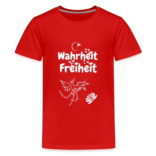 Wahrheit Freiheit - Teenager Premium T-Shirt