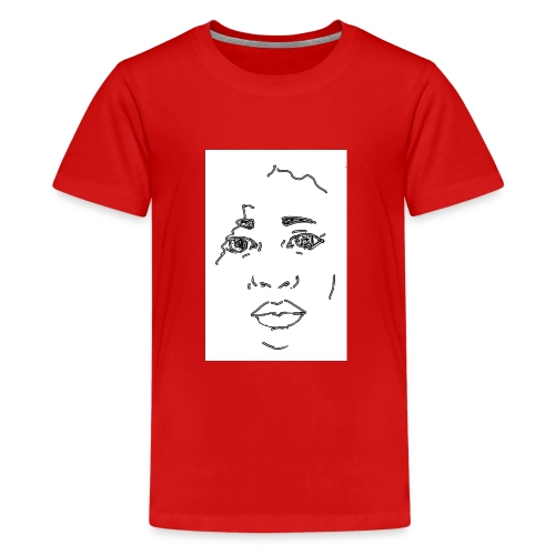 visage - T-shirt Premium Ado