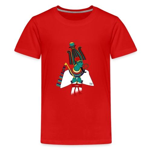 ÄGYPTEN - Osiris - altägyptische Gottheit - Teenager Premium T-Shirt