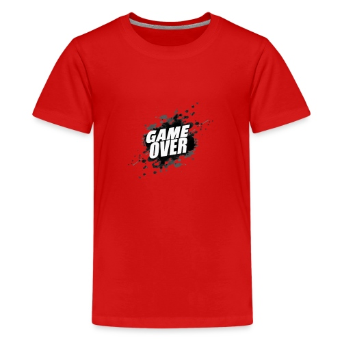 game over - Camiseta premium adolescente