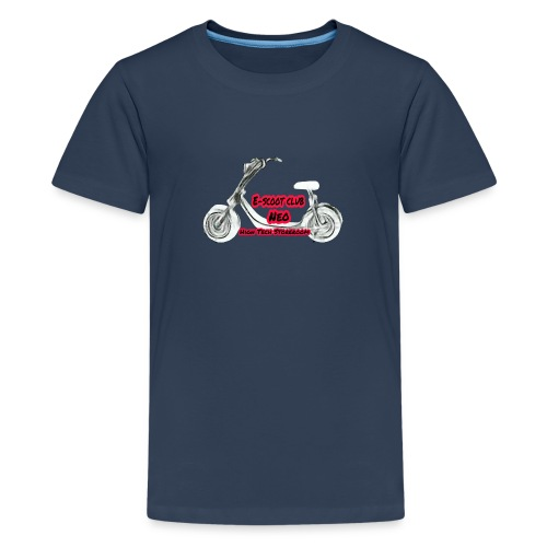 Neorider Scooter Club - T-shirt Premium Ado
