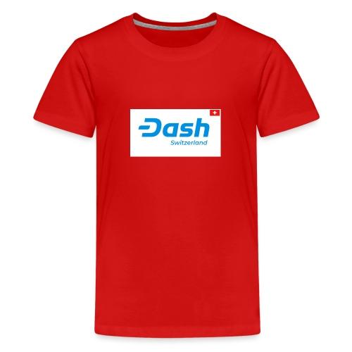 Dash Switzerland - Teenager Premium T-Shirt