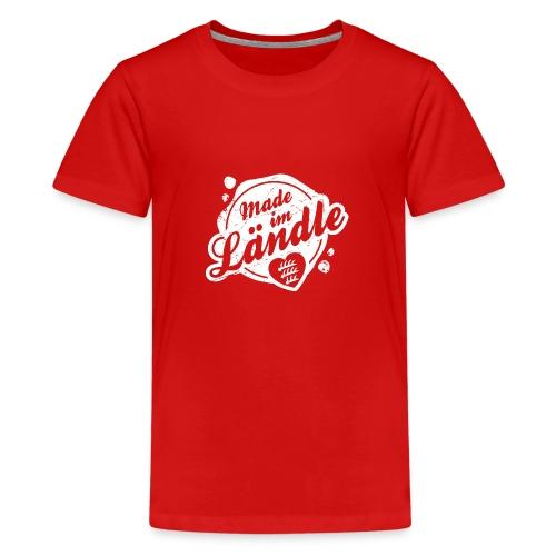 Made im Ländle - Teenager Premium T-Shirt