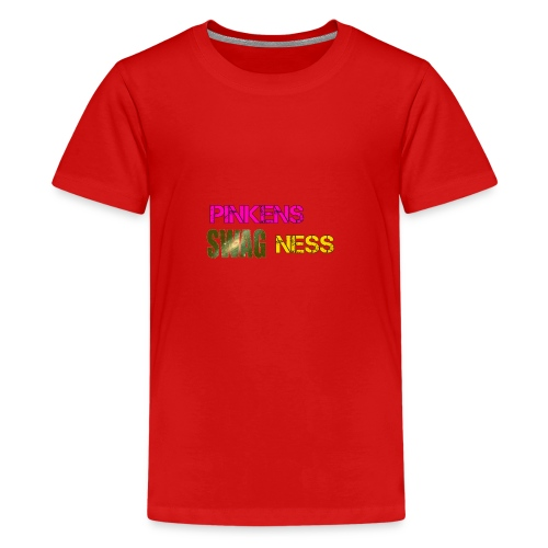 Pinkens swagness - Teenager premium T-shirt