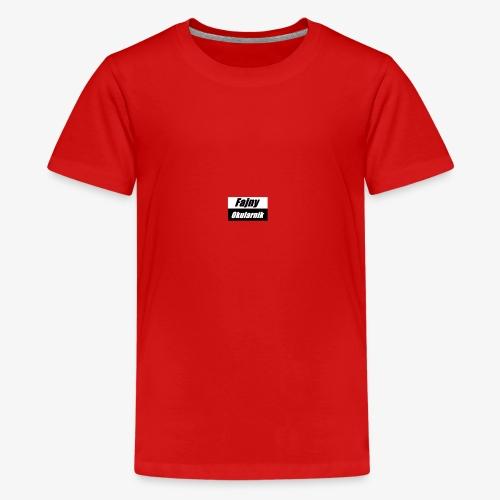 fajny okularnik - Koszulka młodzieżowa Premium