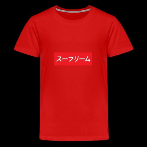 japanese - Camiseta premium adolescente