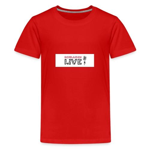 Roslagen Live - Premium-T-shirt tonåring