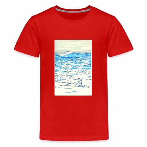 EVOLVE - Teenage Premium T-Shirt