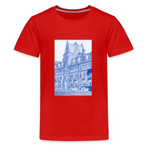 Oxford Architecture Design - Teenage Premium T-Shirt