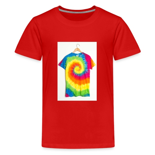 tie die small merch - Teenage Premium T-Shirt