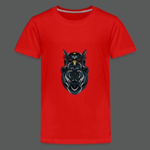 animal art work - Teenage Premium T-Shirt