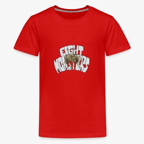 Eight Monsters - T-shirt Premium Ado