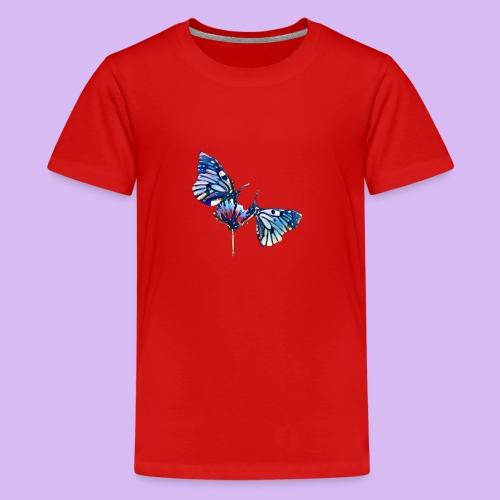 Coppia di farfalle - Maglietta Premium per ragazzi