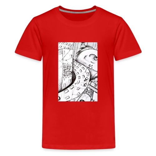 detail bird - T-shirt Premium Ado