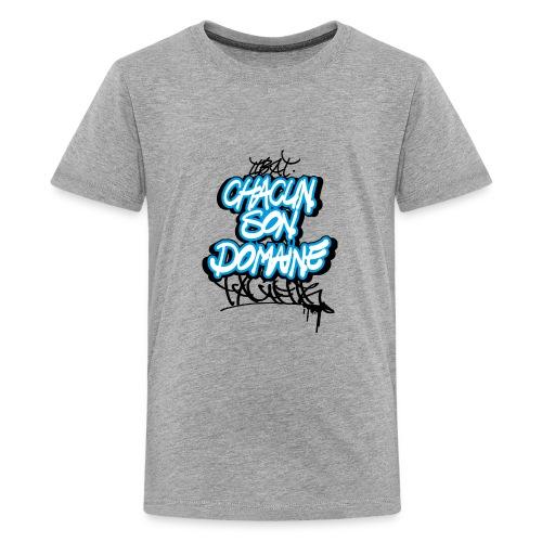 chacun son domaine - T-shirt Premium Ado