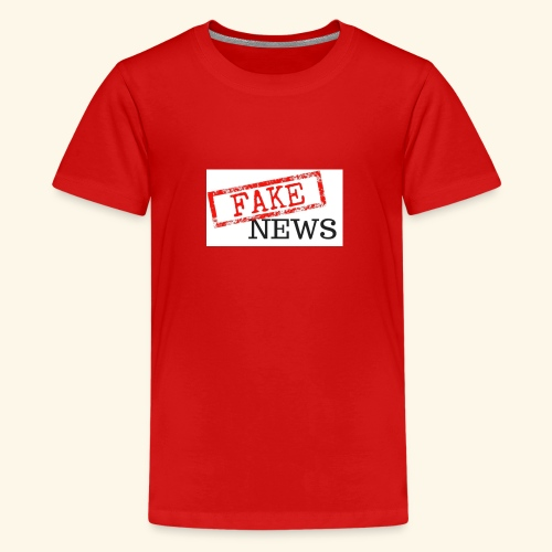 fake news - Teenage Premium T-Shirt