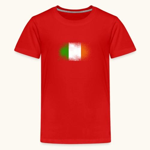 Irland Grunge irische Flagge lustig Geschenk Ire - T-shirt Premium Ado