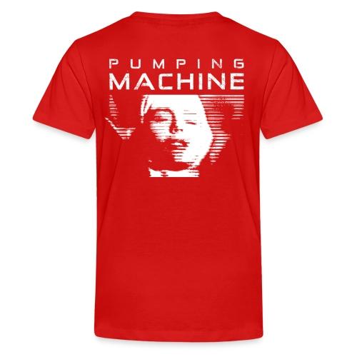 Negant logo + Pumping Machine - Teenager premium T-shirt