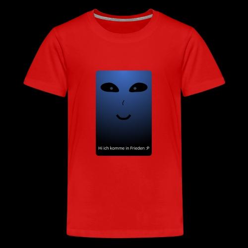 Frieden - Teenager Premium T-Shirt